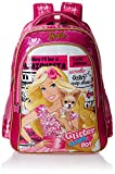Barbie Polyester 18 Inch Pink Children's Backpack (Age group :8-12 yrs)
