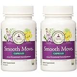 Traditional Medicinals - Smooth Move Senna, 2 Pack of 50 capsules