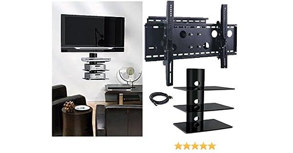 2 x casa – nuevo soporte de pared para televisor (brazo único) y ...