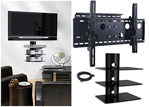 2xhome - NEW TV Wall Mount Bracket (Sing - Swivel Wall Mount Stand Shopping Results