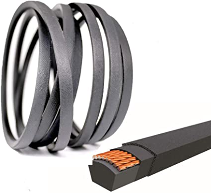A Section Rubber D/&D PowerDrive 140294 Husqvarna Sears Craftsman Poulan AYP,140067 Replacement Belt 1//2x82