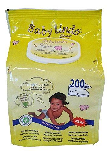 Baby Lindo 200Ud Pop Up Toallitas
