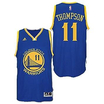 e3ab54e08 Adidas Men's Golden State Warriors NBA Klay Thompson Swingman Jersey Blue  Small