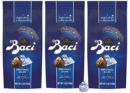 Baci Perugina Original Dark Chocolate Truffle Bag, 5 oz (Pack of 3) ()