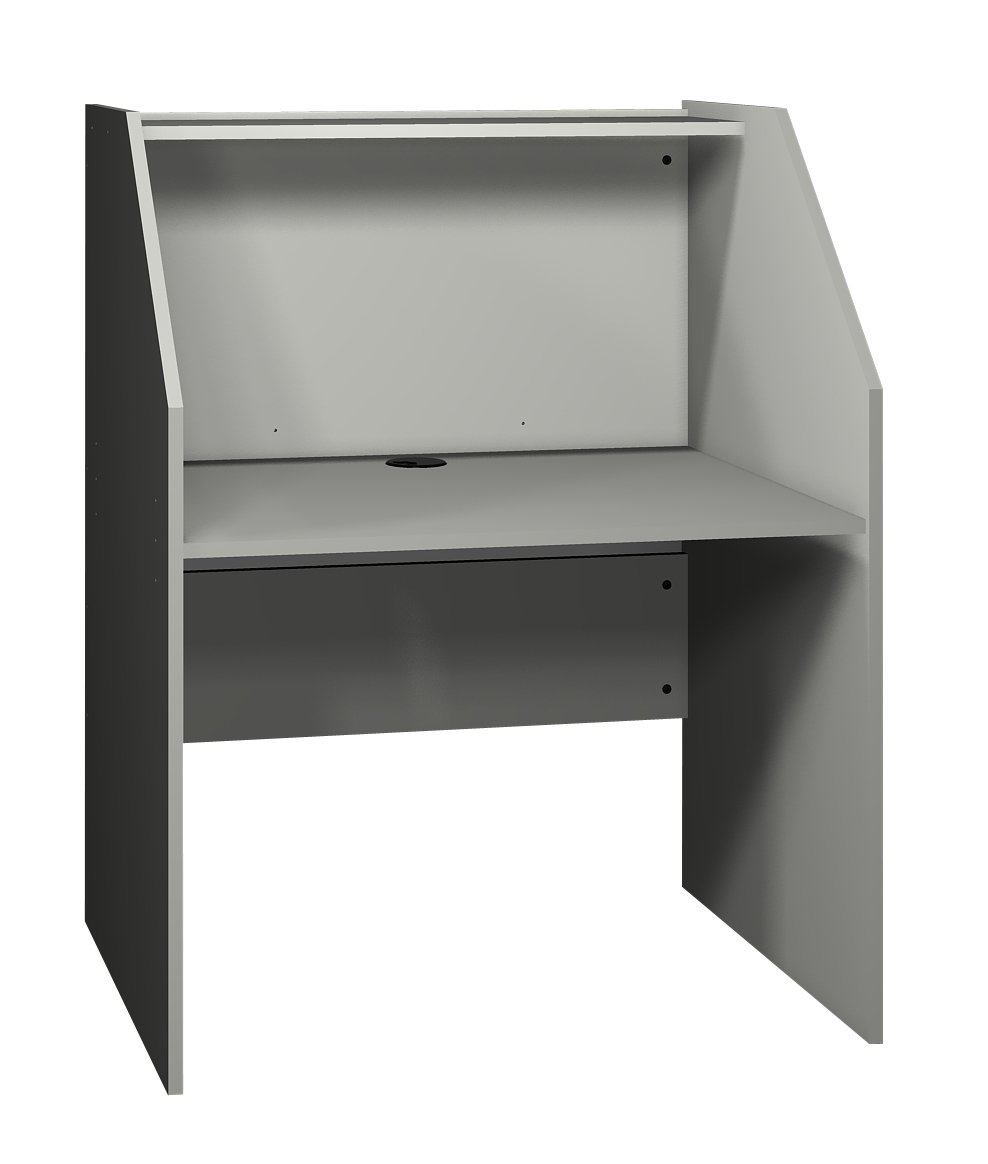 Ironwood Study Carrel Base, Grey (BSCGG)