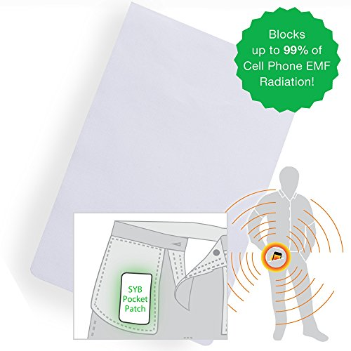Price comparison product image SYB EMF Pocket Patch, Cell Phone Radiation Protection Shield, 3-Pack
