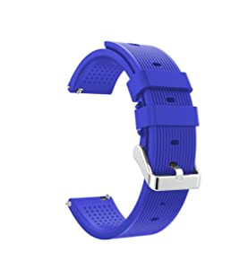 Becoler Replacement Silicone Wristband Wrist Strap for Samsung Gear Sport