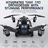 SZMWL JJRC H40 2.4G 4CH 6 Axis RC Drone with WiFi Camera Air and Ground Mode Headless Mode One Key Land RC Tank Quadcopter VS H31 H37