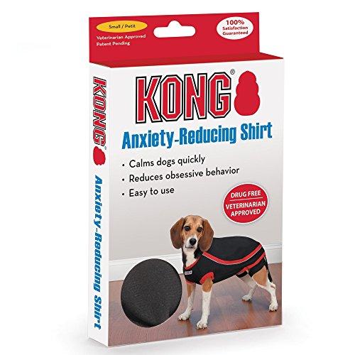 Kong Anxiety-Reducing Pet Shirt, Black X-Large