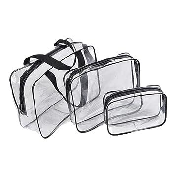 Amazon.com: Bolsas transparentes de PVC, organizador de ...