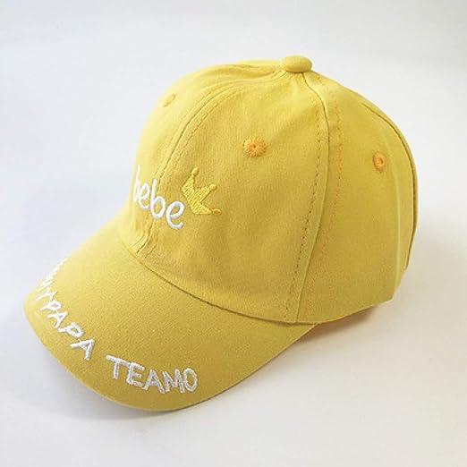geiqianjiumai Sombrero para niños Visera de Marea Masculina niño ...