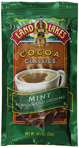 Land-O-Lakes Mint Hot Cocoa Mix 15 oz (Pack of 12)