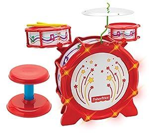 Amazon Com Kids Station Big Bang Drumset With Lights