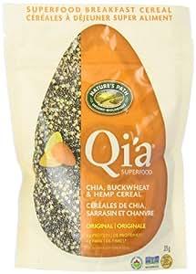 Nature's Path Qi'a Chia Buckwheat and Hemp Cereal Original