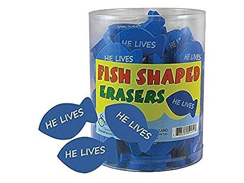 Eraser He Lives Fish Shaped Bl - Fish Eraser