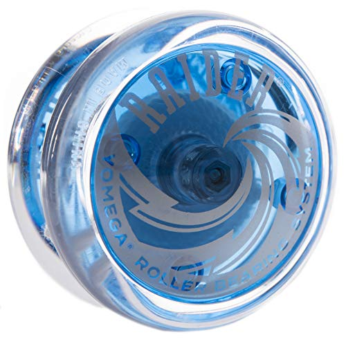 Raider Blue and Clear Yo Yo By Yomega (Yomega Raider Yo Yo)