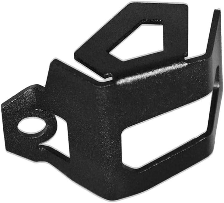 Lechnical Motorrad-Bremspumpe hinten Fl/üssigkeitsbeh/älter Schutz Protektor /Ölbecherdeckel Ersatz f/ür BMW F800GS F700GS schwarz