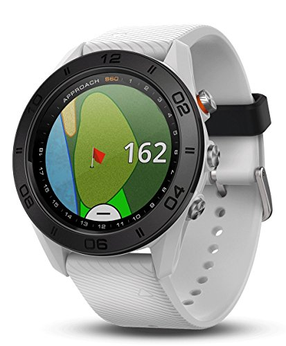 Garmin Approach S60 (White) Golf GPS Watch with Screen Protector & Charging Adapters Bundle | Includes Multi Sport Golf GPS, Tempered Glass Screen Protector & PlayBetter USB Car/Wall Adapters