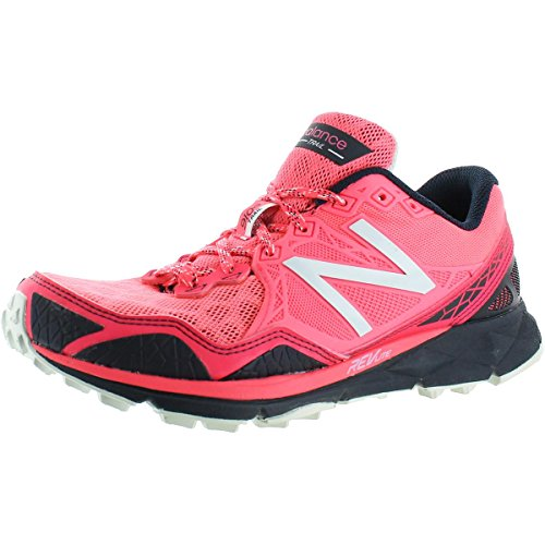 New Balance Women's 910v3 Trail Running Shoe, Pink/Grey, 6 D US