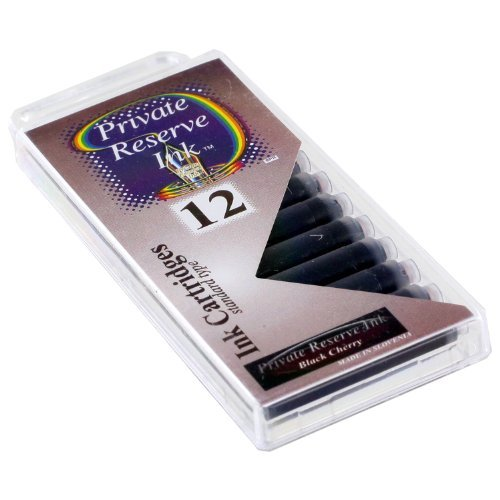 Private Reserve Ink Cartridges Black Cherry