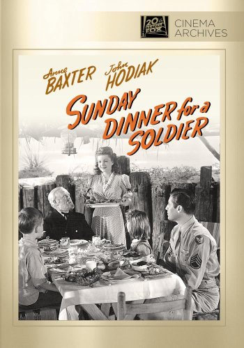 - Sunday Dinner for a Soldier