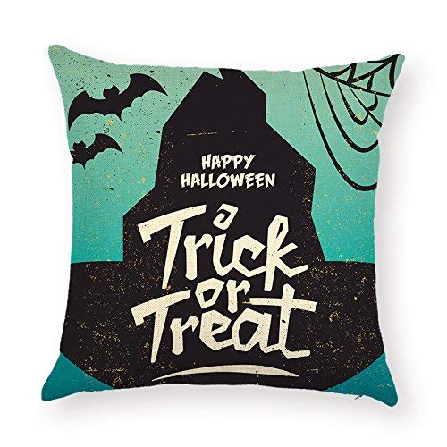 SPXUBZ Sayings Happy Halloween Trick Or Treat Quotes