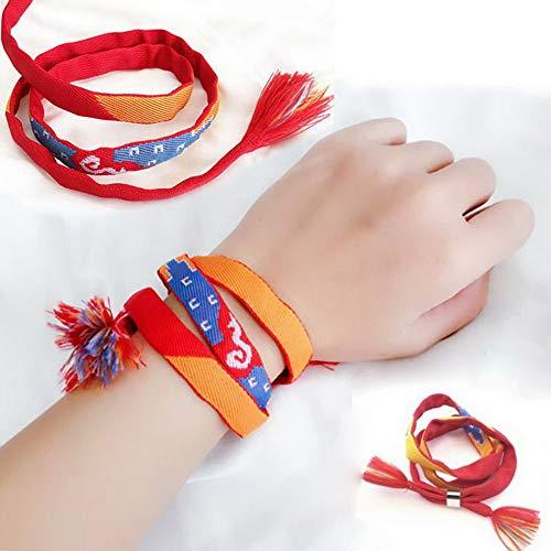 Werrox Movie Kimi no Na wa Your Name Miyamizu Mitsuha Bracelet Chain Jewelry Cosplay   Model BRCLT - 23077   ()