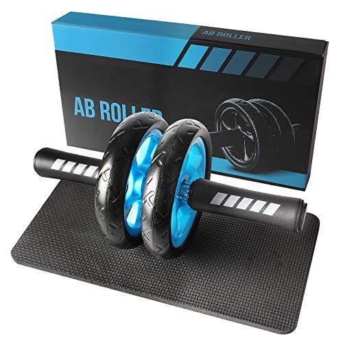 Quesuc Abdominal Wheel, Abdominal Wheel Ab Roller, Home Buikspier Workout Roller, Geschikt Voor Professionele…
