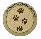 "Cheap Russ Berrie E73948 ""Cats Leave Paw Prints on your Heart"" Stepping Stone"