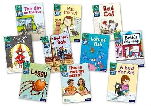 Read Write Inc. Phonics Book Bag Books: Green Set 1 Storybooks ...