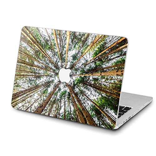 Lex Altern MacBook Case Pro 15 inch Air 13 12 11 2018 Amazing Forest Mac 1990 1708 Lightweight Retina Cover Nature Trees Hard Shell Apple 2017 2016 Protective Girly Print Touch Bar Conifers 2015 Soft]()
