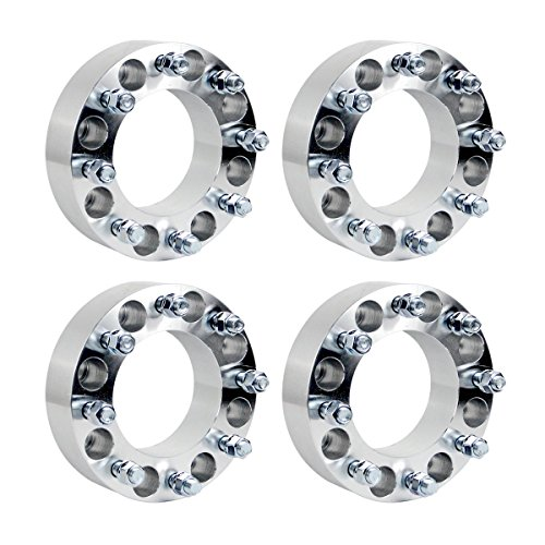 4pcs 8 lug 8x6.5 Wheel Spacers 2 inch with Center Bore, used for sale  Delivered anywhere in USA