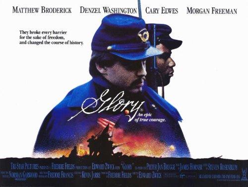 (Glory Poster Movie UK B 11x17 Matthew Broderick Morgan Freeman Denzel Washington Cary Elwes)