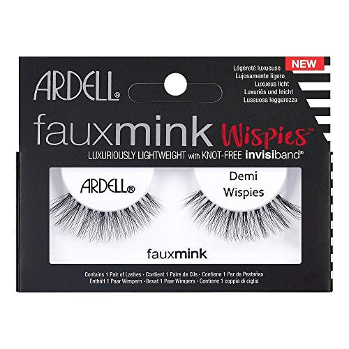 Ardell Faux Mink Lashes Demi Wispies - 1 EA (Pack of 4) ()