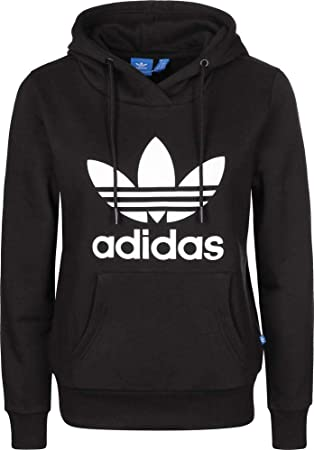 adidas Trf Logo, Sweatshirt Damen, damen, Trf Logo, schwarz, Gr. 48 ... 24d711afd9