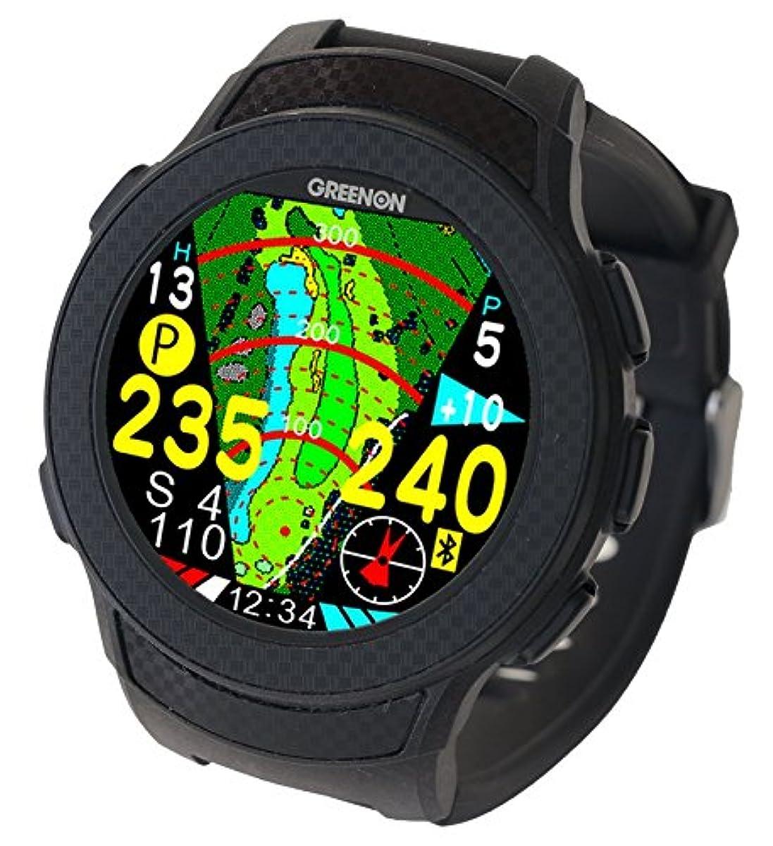 [해외] GREENON(그린 온) 골프 네비 GPS 더・골프 워치 A1 (A one) all in one 화면 탑재 고정밀 반사형 컬러 액정 10주년 기념 모델 ※종래가 이끌어 대응(L1C/A)
