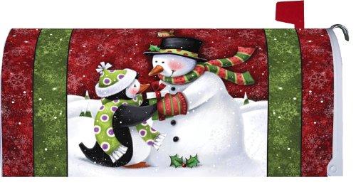 Snowman Penguin (Mailbox Makeover - Welcome Friends Snowman & Penguin)