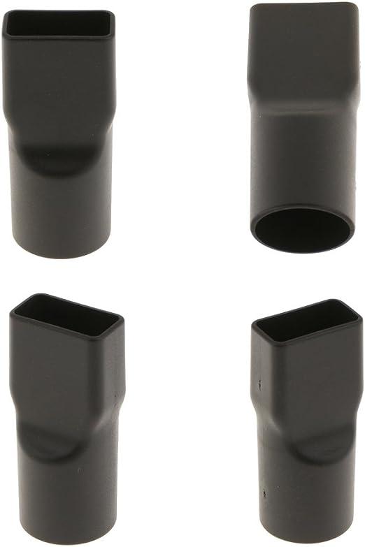 IPOTCH 4 Unids Redondo Adaptador de Conector Boquilla Cepillo de Aspirador Cuello Cuadrado 32mm: Amazon.es: Hogar