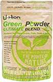 Hion Green Powder - ULTIMATE BLEND 150g | 30 Servings | Vegan, alkaline & gluten-free Supergreens | 11 of the highest-quality ingredients | No 'Fillers' such as Silica or other useless ingredients | The UK's Premium Superfood with genuine results!