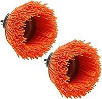 2-Pack Dico Nyalox Cup Brush, 21/2-Inch, Orange, 120 Grit