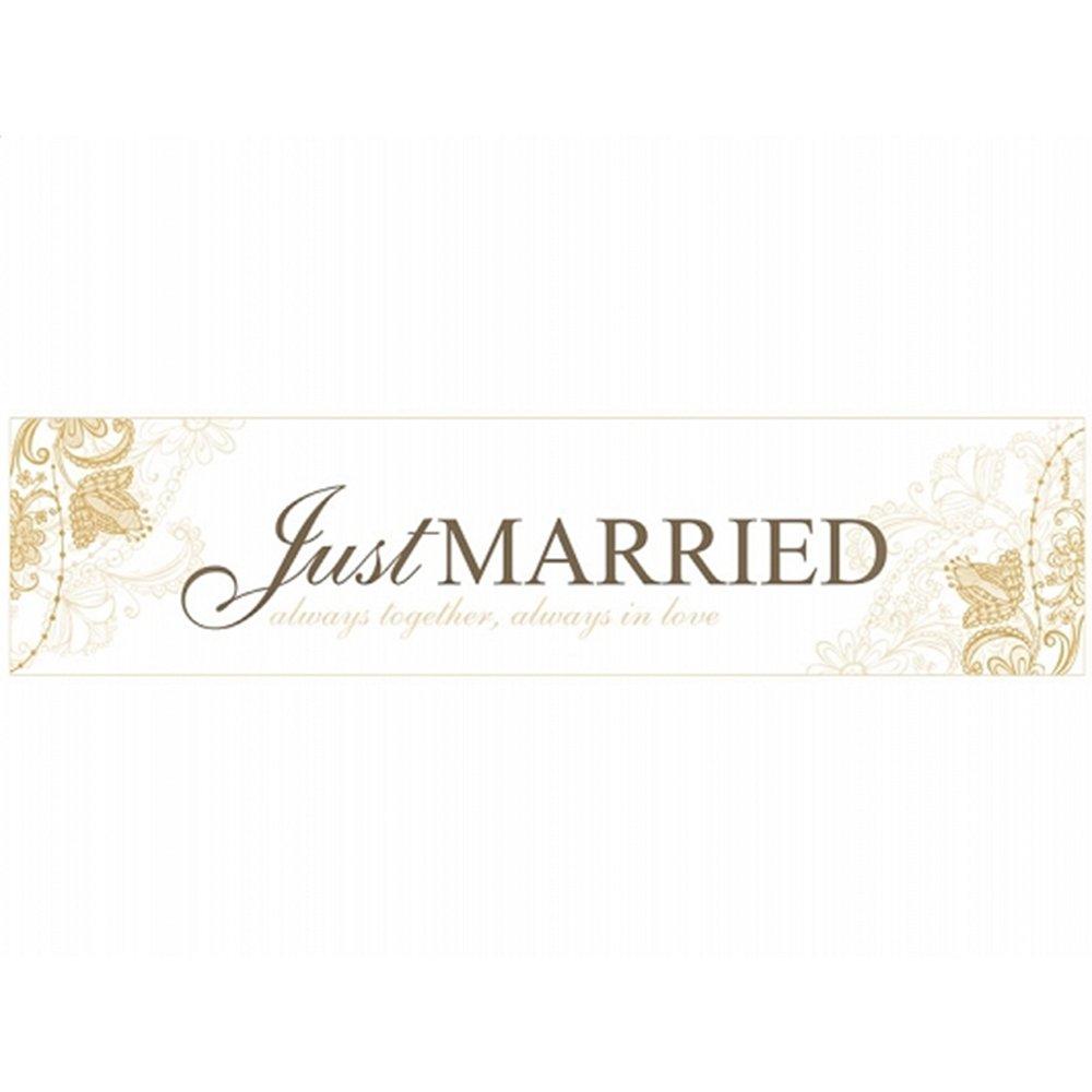 Autokennzeichen als Deko f/ür das Brautauto just married - always together 2 Hochzeits