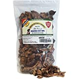 Green Butterfly Brands Beef Dog Treats – Made in USA Only – All Natural, Meaty Slow Roasted Beef Tips – Premium American Beef – Grass Fed, Farm Raised – Crunchy & Delicious Grain Free Training Treat