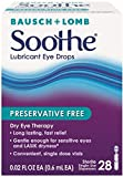 Bausch + Lomb Soothe Preservative-Free Lubricant