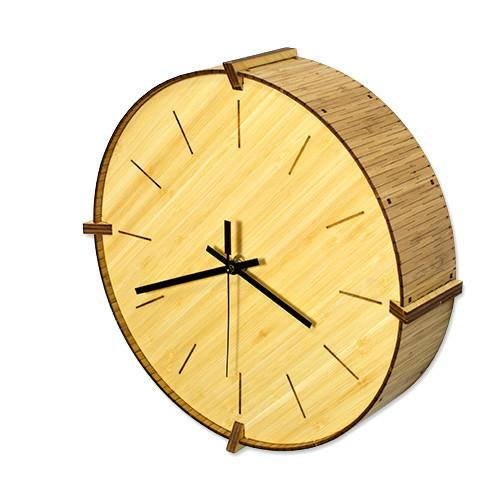Cardboard Safari Baltic Wall Clock, Living Hinge