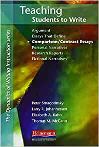 teaching comparison-contrast essays Students are introduced to comparing and contrasting through this writing process teaching model it includes a sample compare-and-contrast chart, a blank compare-and.