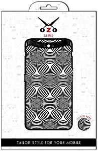لاصقة حماية من اوزو برسومات احادية اللون لموبايل Oppo A57