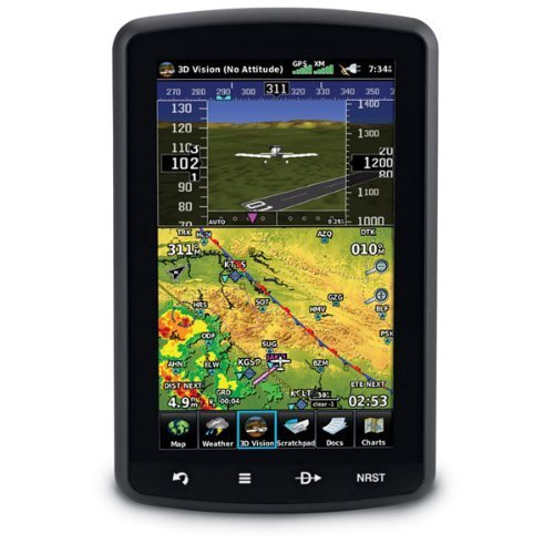 Read About Garmin aera 796 Portable Touchscreen Aviation Navigators with 3D Vision