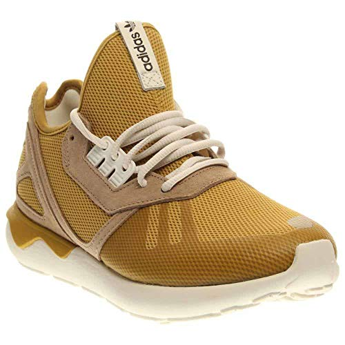 adidas Tubular Runnner Men's Shoes Spice Yellow/Clear Sand/Legacy White b23886 (9 D(M) ()
