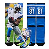 For Bare Feet Calvin Johnson Jersey Socks