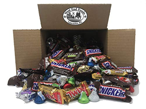 (Bulk 5lb Individually Wrapped Assorted Chocolate Boxes for Easter, Piñata, Party, Parade, Christmas, Birthday, and)